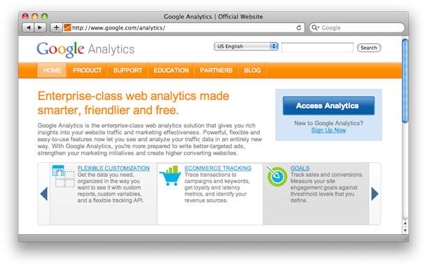 Google Analytics Login