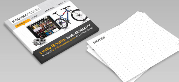 Square Business Cards By Bourke Design