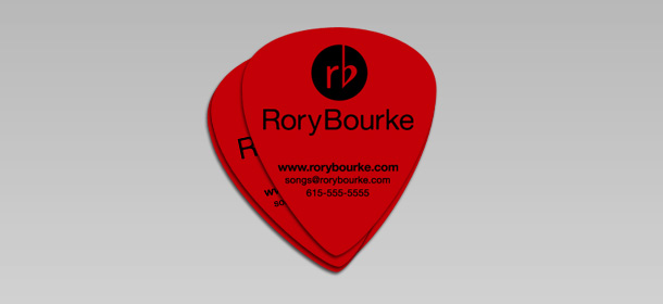 Custom Guitar Picks By Bourke Design