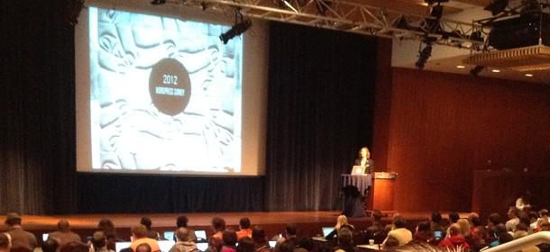 Matt Mullenweg at WordCamp