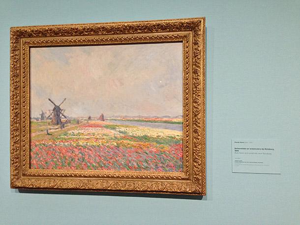 Van Gogh's Bulb Fields and Windmills Near Rijnsburg