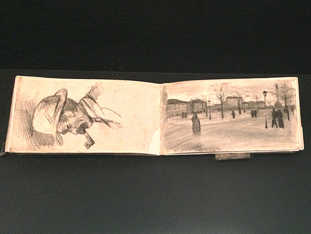 Van Gogh's Sketch Book