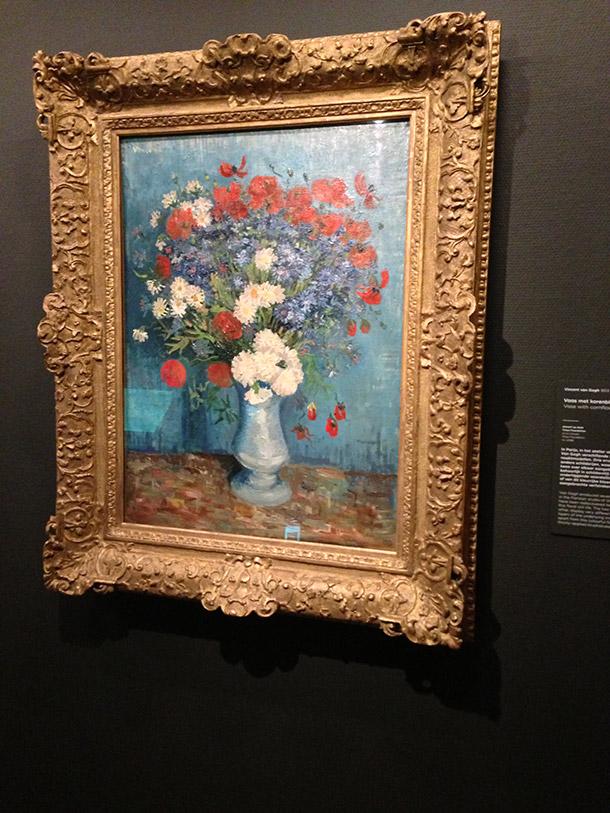 Van Gogh's Vase with Cornflowers