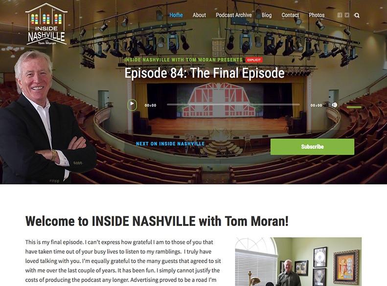 Inside Nashville with Tom Moran