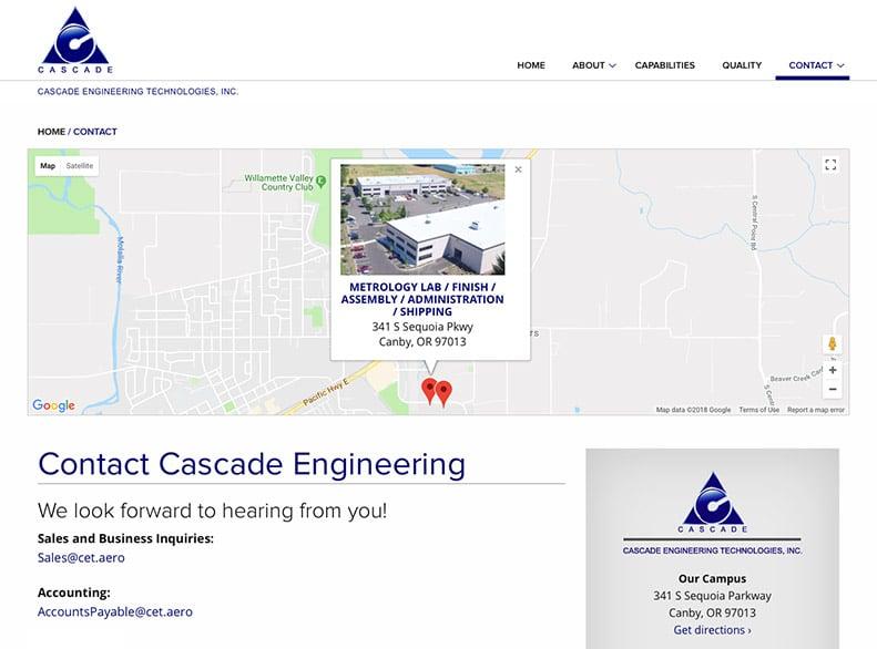 Cascade Engineering Technologies