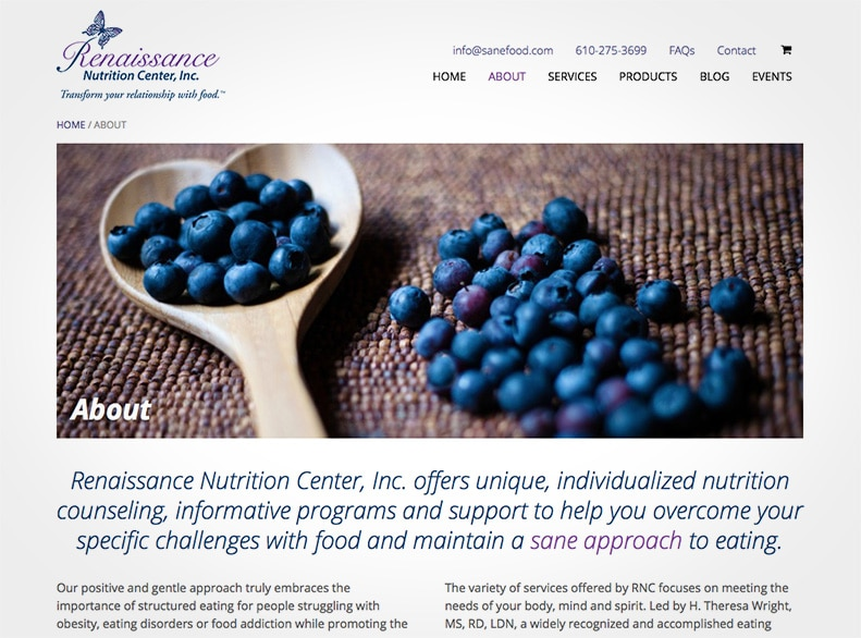 Renaissance Nutrition Center About