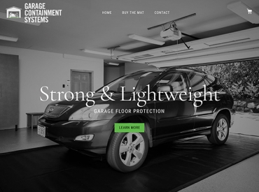 Garage Containment Systems Home Page