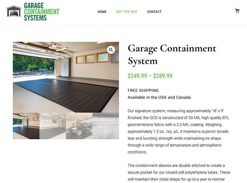 Garage Containment Systems