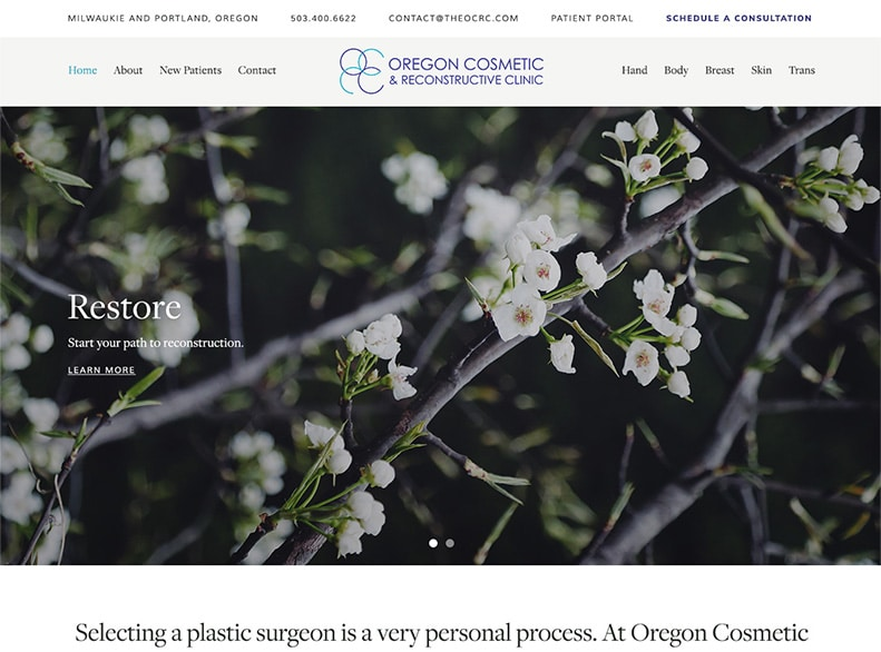 Oregon Cosmetic and Reconstructive Clinic