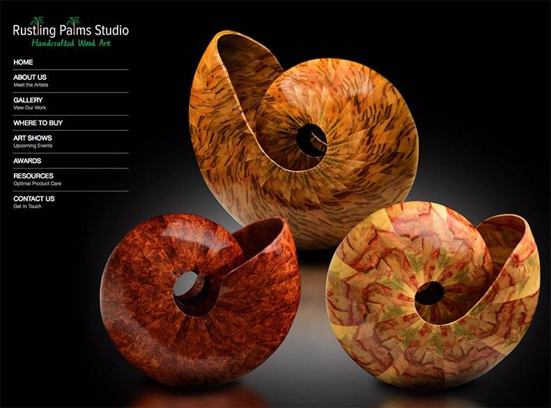 Rustling Palms Studio Website