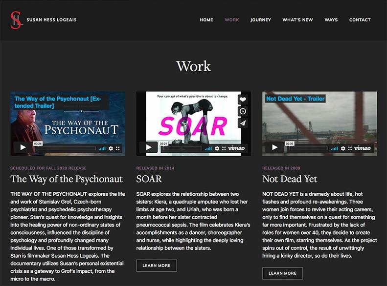 Susan Hess Logeais Website