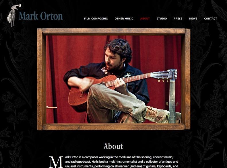 Mark Orton Website